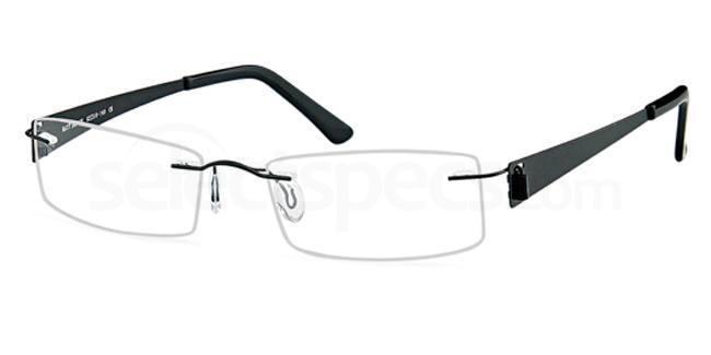 Black EMP7560 Glasses, Vista