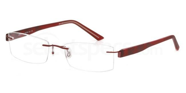 Burgundy EMP7562 Glasses, Vista