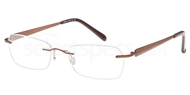 Brown EMP7567 Glasses, Vista