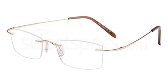 Gold EMP7568 Glasses, Vista