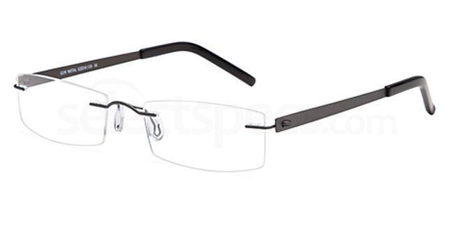 Gun Metal EMP7569 Glasses, Vista