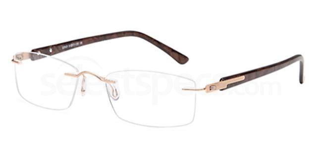 Gold EMP7571 Glasses, Vista