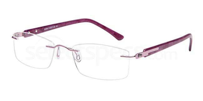 Purple EMP7571 Glasses, Vista