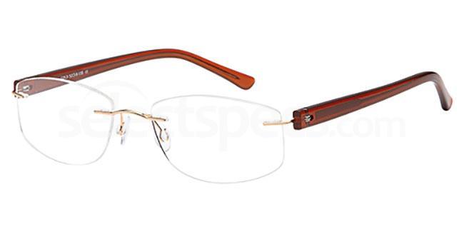 Gold EMP7589 Glasses, Vista