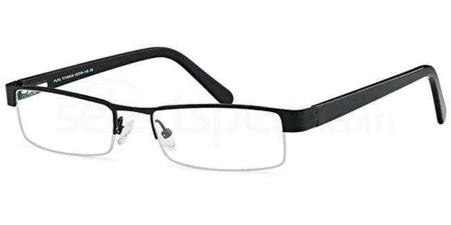 Matt Black ALP22 Glasses, Alpine Titanium