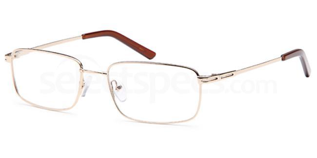 Gold 6036 Glasses, Flexit