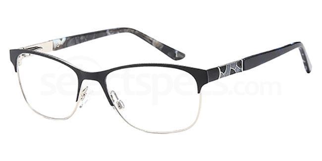Black/Silver CH951 Glasses, Coca Havana