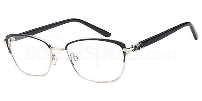 Black/Silver CH953 Glasses, Coca Havana