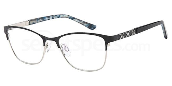 Black/Silver CH954 Glasses, Coca Havana