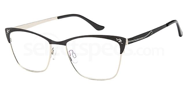 Black/Silver CH957 Glasses, Coca Havana