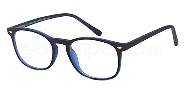Black/Blue MONT856 Glasses, MONTEREY TEENS