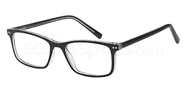 Black MONT859 Glasses, MONTEREY TEENS