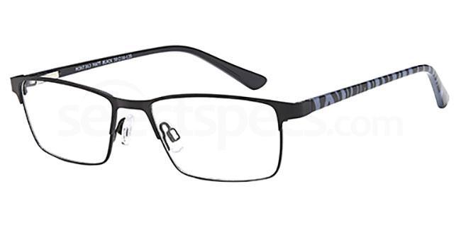 Matt Black MONT863 Glasses, MONTEREY TEENS