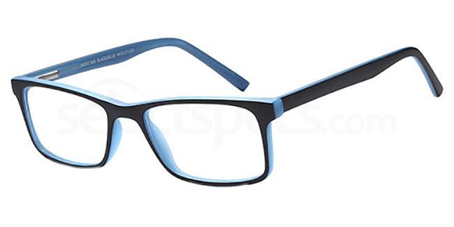 Black/Blue MONT865 Glasses, MONTEREY TEENS