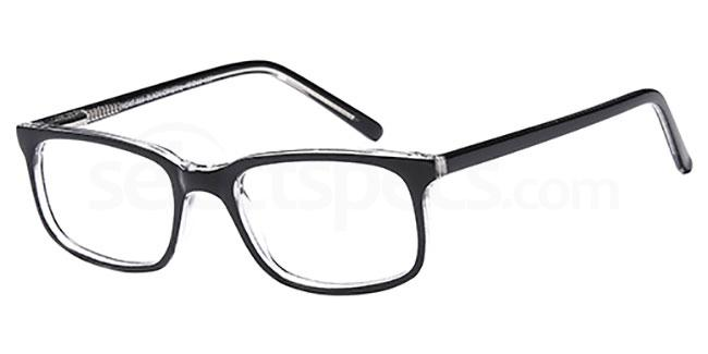 Black/Crystal MONT866 Glasses, MONTEREY TEENS