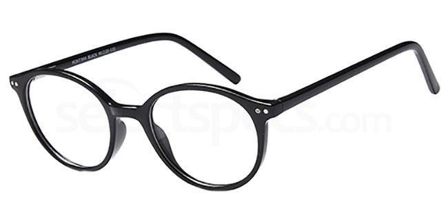 Black MONT944 Glasses, MONTEREY TEENS