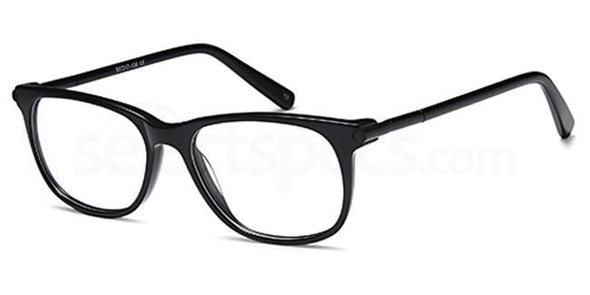 Black DUN002 Glasses, Dune