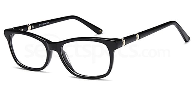 Black DUN003 Glasses, Dune