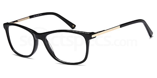 Black DUN018 Glasses, Dune