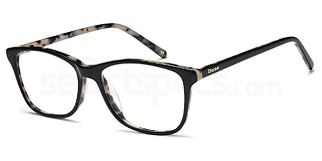 Black DUN019 Glasses, Dune