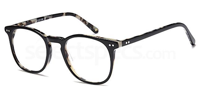 Black DUN023 Glasses, Dune