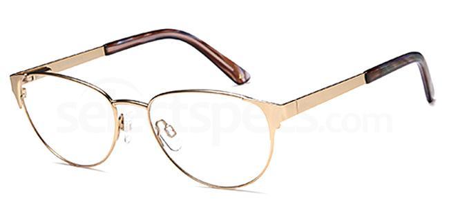 Gold DUN026 Glasses, Dune
