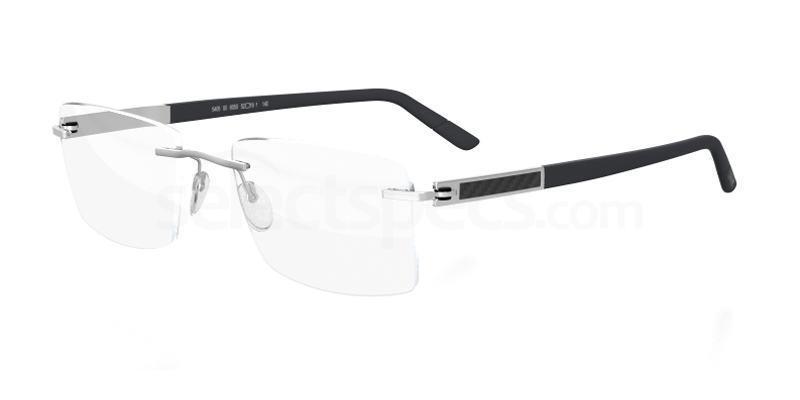 6050 Carbon Intarsia 5405 Glasses, Silhouette LUXURY