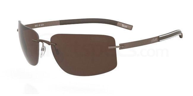 6204 Trophy (8653) Sunglasses, Silhouette