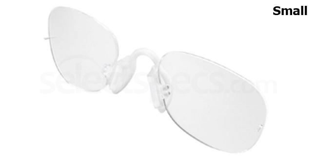 a708 (Small) RXO Flexible Performance Inserts Glasses, Adidas