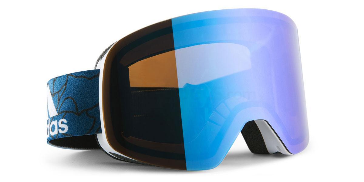 ad80 50 6051 AD80 BACKLAND Goggles, Adidas