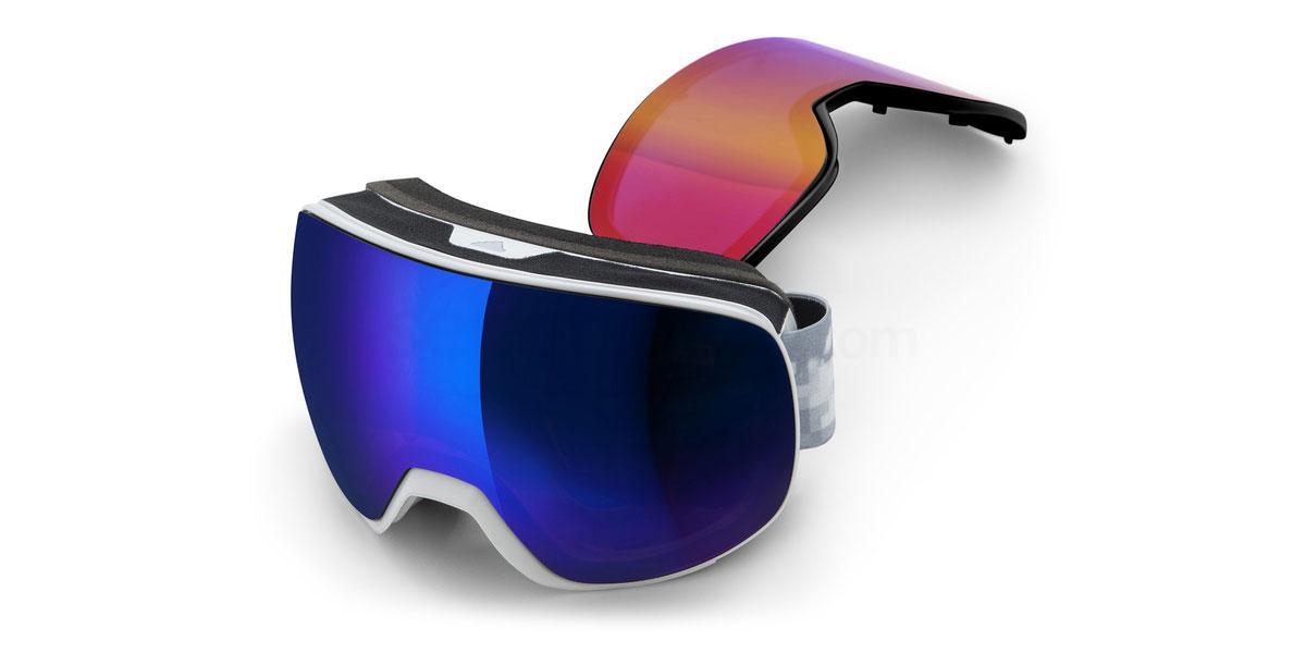 ad83 50 6052 AD83 PROGRESSOR PRO PACK Goggles, Adidas