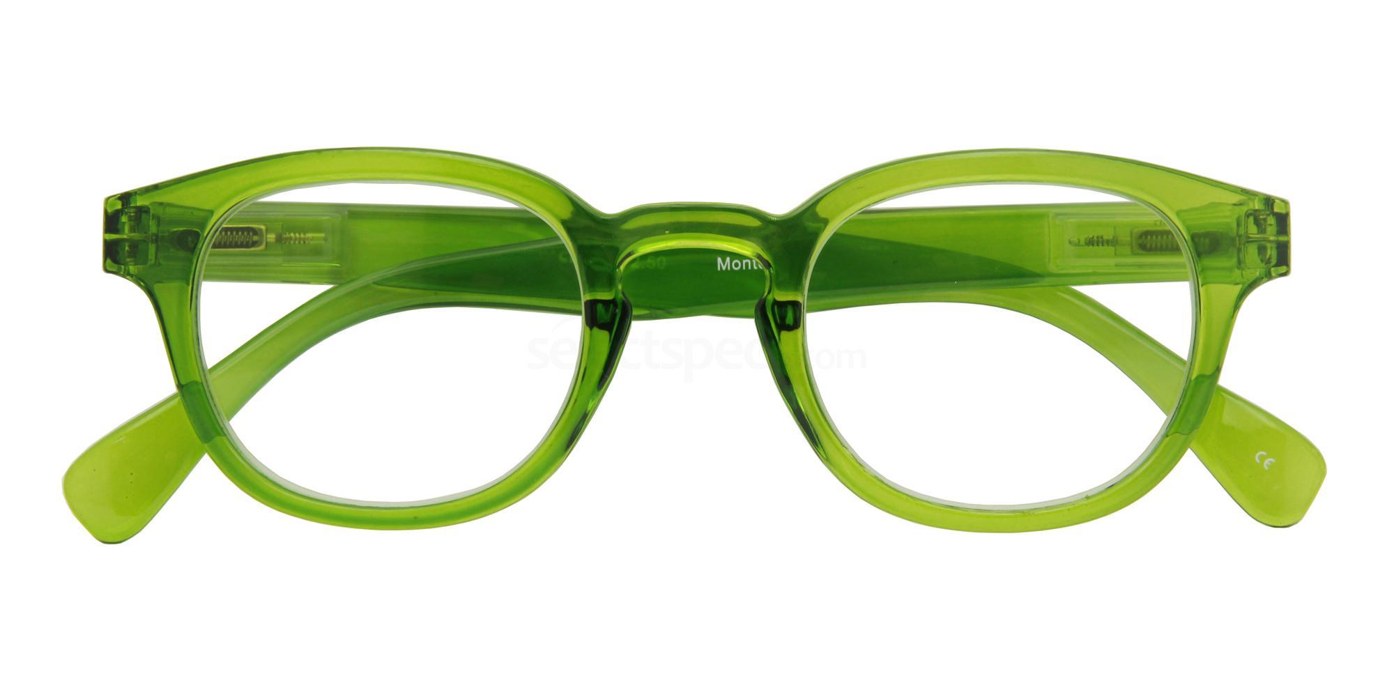 +1.00 Power Montel Green Accessories, Croon