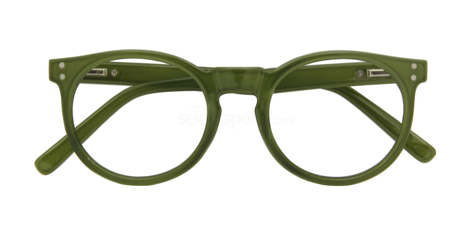 +1.00 Power Kensington Army Green Accessories, Croon