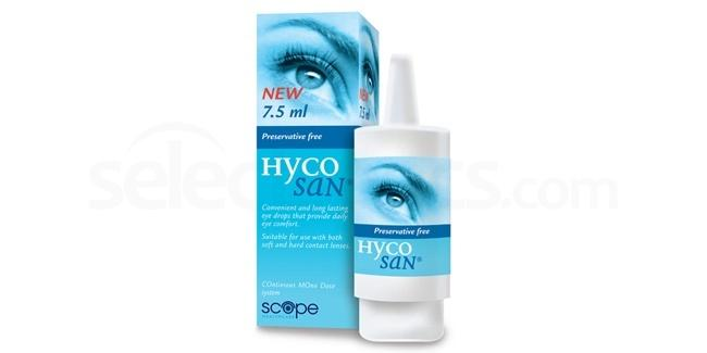 HP Hycosan Eye Drops Accessories, Scope Healthcare