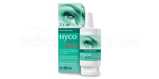 HSP Hycosan Plus Eye Drops Accessories, Scope Healthcare