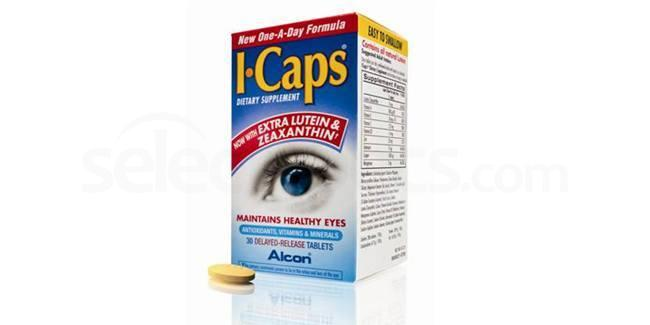 ICAPS Icaps Dietry Supplement pack Accessories, Alcon