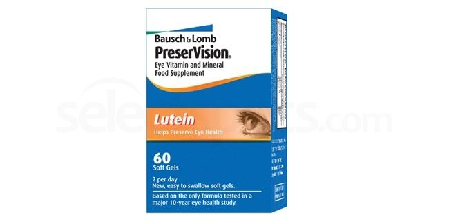 PVL PreserVision Lutein softgels , Bausch & Lomb