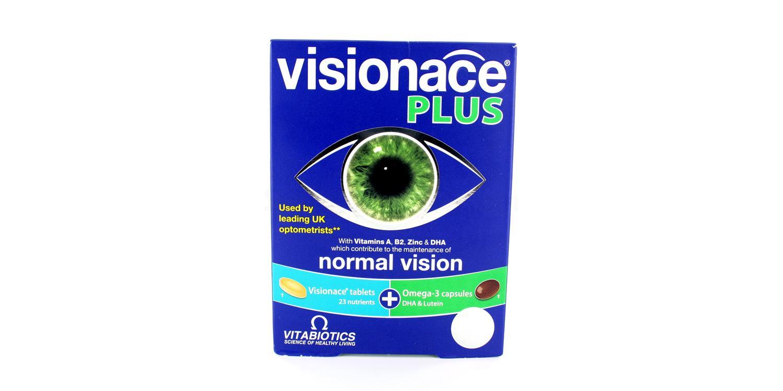 VISP Visionace Plus Omega 3 Accessories, Vitabiotics