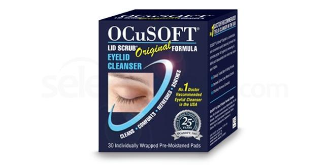 OC30 Ocusoft Lid Scrub Original - Box of 30 Pre-Moistened Pads Accessories, Ocusoft