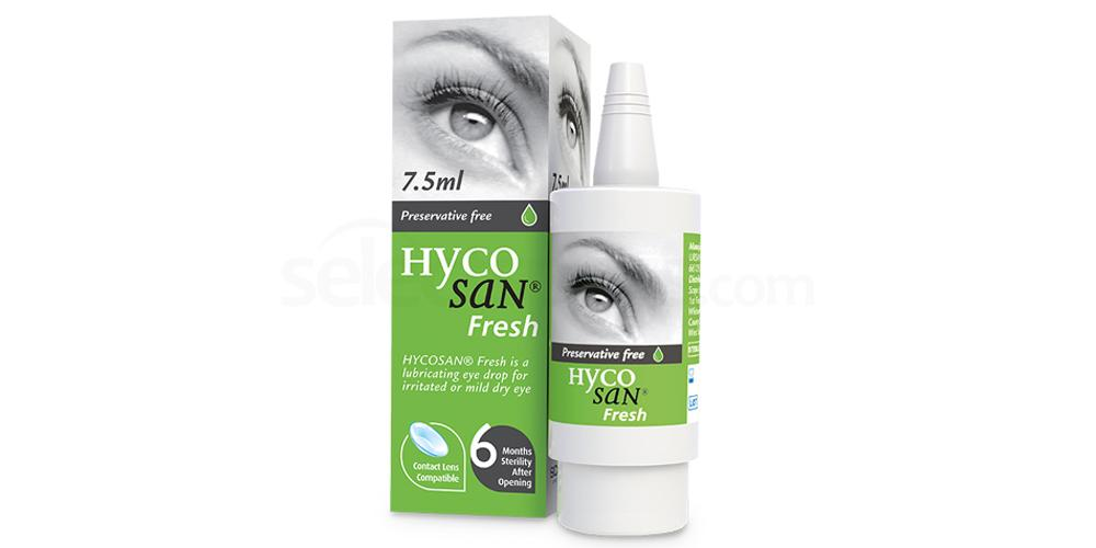 HSF Hycosan Fresh Eye Drops Accessories, Scope Healthcare
