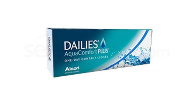 30 Lenses Focus Dailies Aqua Comfort Plus Lenses, Ciba Vision