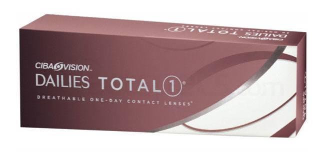 30 Lenses Dailies TOTAL 1 Lenses, Ciba Vision