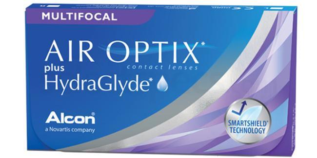 3 Lenses Air Optix Multifocal Lenses, Ciba Vision