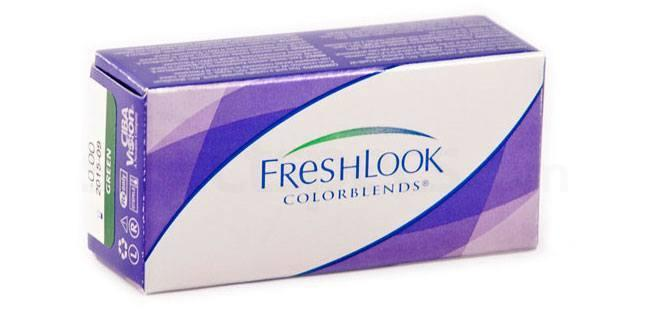 2 Lenses Freshlook ColorBlends Lenses, Ciba Vision
