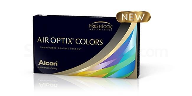 2 Lenses Air Optix Colors Lenses, Ciba Vision