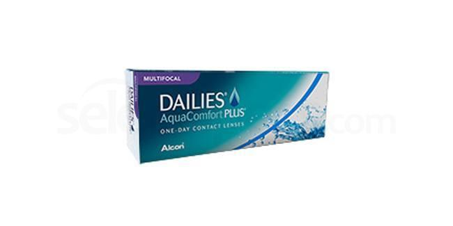 30 Lenses Dailies Aqua Comfort Plus Multifocal Lenses, Ciba Vision