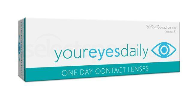 30 Lenses Your Eyes Daily Lenses, Bausch & Lomb