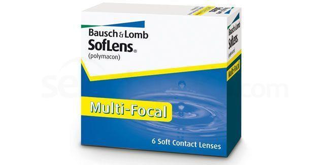 3 Lenses SofLens Multifocal Lenses, Bausch & Lomb