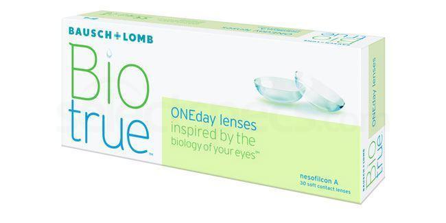 30 Lenses BioTrue ONE Day Lenses, Bausch & Lomb