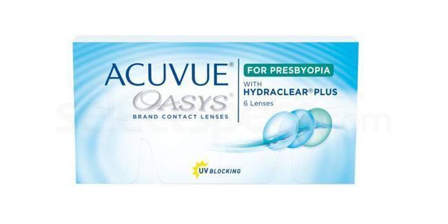 6 Lenses Acuvue Oasys for Presbyopia Lenses, Johnson & Johnson